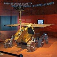 ESA ExoMars Rover (model), part of ESA's Aurora programme
