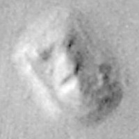 Mars Face (NASA Viking 1978)