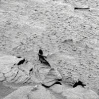 Mars Humanoid Statue (NASA Spirit 2007)