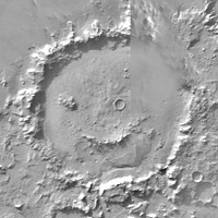 Mars Happy Face (Smile)