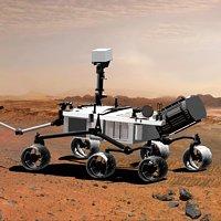 Mars NASA MSL Mars Science Laboratory aka Curiosity (artistic rendering)