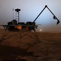 Mars NASA Phoenix lander (artistic rendering)