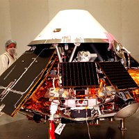 Mars NASA Mars Polar Lander being tested