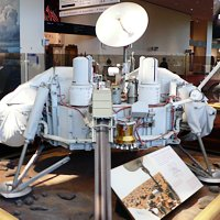 Mars NASA Viking Lander (model)