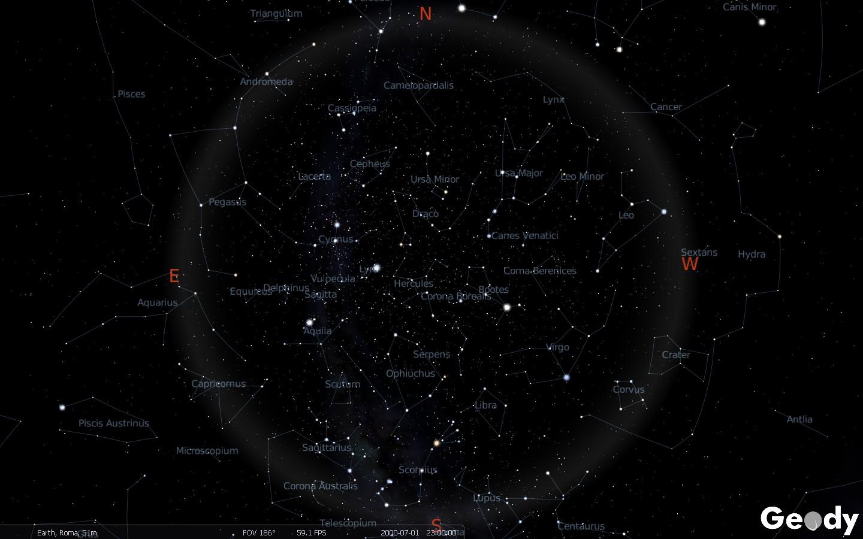 Star Charts Sky Maps Download Geody